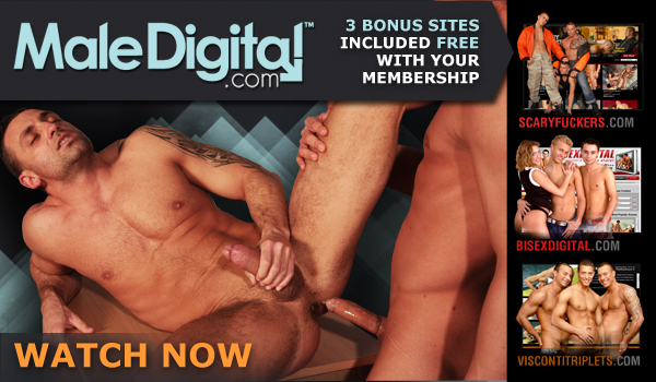Awesome Gay Scene With With Two Nasty Dudes